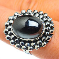 Hematite 925 Sterling Silver Ring Size 8.25 Ana Co Jewelry R44315F