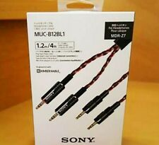SONY Headphone cable 1.2 m MUC-B12BL1 for MDR-Z7 Express shipping from Japan