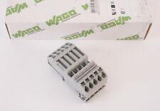 Wago bornes 0 2 -6qmm Gris 282-696