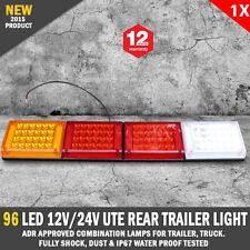 NEW 96 LED 12V - 24V Rear Tail Light Indicator For Trailer Caravan Truck Boat