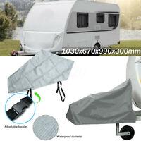 Waterproof Caravan Tailer Towing Hitch Coupling Lock Cover Rain Dust Sun  //