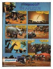 1984 DOCUMENT (ref Fip 816)  PUB : PLAYMOBIL ANIMAUX EN AFRIQUE  1 page
