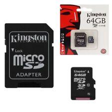 Scheda di memoria Micro SD 64 Go classe 10 per HTC ONE M8