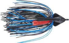 Booyah Swimmin Jig 1/2oz - Black/Blue - Bass Yellow Belly Cod Barra Lure