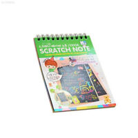 4064 Magic Scratch Art Painting Book Paper Colorful Educational Playing Toys