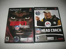 ESPN NFL Football (Sony PlayStation 2, 2003) & Head Coach