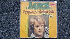 Lars Berghagen - Damals vor deiner Zeit 7'' Single SUNG IN GERMAN
