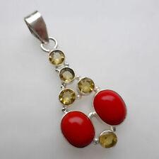 Citrine Not Enhanced Beauty Fine Necklaces & Pendants