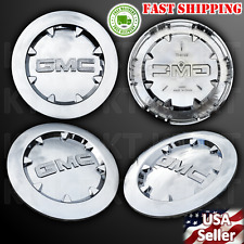 Brand New 4pcs. 2007-2012 GMC SIERRA 1500 YUKON XL DENALI Chrome Center Cap 20""