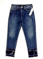 Hudson Jeans Size 28 Zoeey High Rise Straight Crop Double Step MSRP $265 (M)