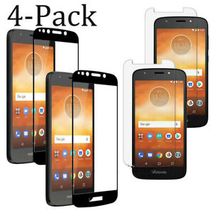 For Motorola Moto G8 One E6 G7 Z4 Full Coverage Tempered Glass Screen Protector