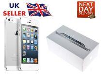 New iPhone 5 White 16GB Apple Brand Unlocked Sim Free Smart Phone Sealed Boxed