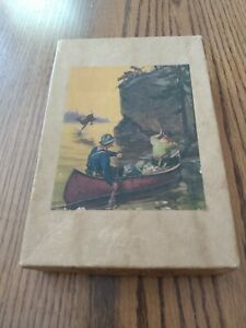 Vintage J K STRAUS 3 Ply Veneer Wood Jigsaw Puzzle - To The Rescue #219 - 100+pc