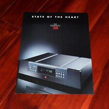 GRYPHON TABU CDP1 player BROCHURE vintage high-end audio dual mono HDCD catalog