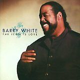 WHITE Barry - Icon is Love (The) - CD Album