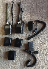 TWO ICOM IC-M7 VHF MARINE RADIOS