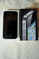 APPLE IPHONE 4 IN BOX 16 GB SILVER & BLACK, AT&T