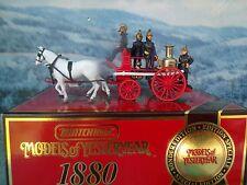 "Matchbox  Models of Yesteryear  YS46 1880 Merryweather Steam Fire Engine""Greenwi"