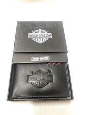Men's Black Harley Davidson Leather Wallet