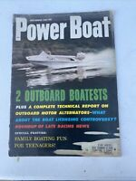 Hot Boat Magazine Sept 1961 Good Advertising! Perfect Shop Magazine See Store