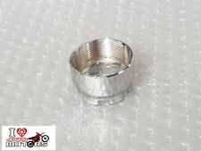 YAMAHA CHAPPY LB LB50 LB80 NEW EXHAUST PIPE - MUFFLER CONNECTOR NUT CHROME