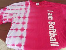 "Gildan Women's ""I Am Softball"" Sports T-shirt - Large"