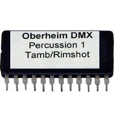 Oberheim DMX PERCUSSION 1 TAMBOURINE RIMSHOT Sound Eprom