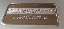 Lingote de plata nuevo, sin usar 40 Grms acuñada por John Pinches banco de Alemania