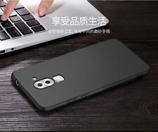 """For """"Huawei Honor 6X"""" Candy Slim Soft Silicone Matte Back Case Cover - Black"""