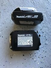 2pc Makita BL1820B-2 Genuine 18V Lithium-Ion 2.0Ah Battery Pack BL1820-2 Gauge