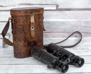 Hensoldt-Wetzlar Jagd-Dialyt 6x42 Fernglas D.R.P.  Binocular mit orig. Köcher