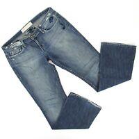 Joes Womens Vintage Series 1971 Bootcut Denim Jeans Sz 32 (36 x 34.5) Distressed