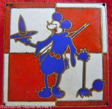 Insigne RR REGULATION ROUTIERE TRAIN 1939 Thème Walt Disney Mickey WWII ORIGINAL