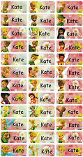 Personalized Waterproof Name labels stickers, 36 tinkle bell ,day care, school,