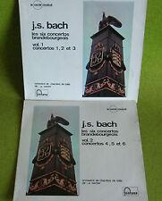 2 LP BACH-6 CONCERTOS BRANDEBOURGEOIS-Orch de BALE-SACHER-FONTANA 200.033/34