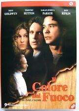 Dvd Il Colore del fuoco con Sarah Jessica Parker 1996 Usato raro fuori cat.