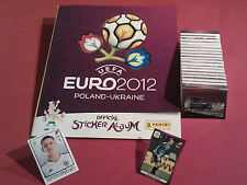 Panini EM 2012 internationale Version komplett + Album - alle Sticker - EURO 12
