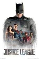 JUSTICE LEAGUE MOVIE - CHARACTER COLLAGE POSTER - 22x34 - DC COMICS 15188