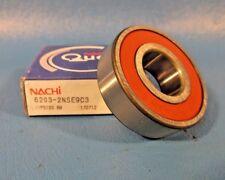 Nachi Ball Bearing 6203-2NSE9 C3 Dbl Seals, Japan (SKF 2RS1, NSK DDU, NTN)