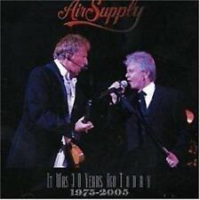 AIR SUPPLY: It Was 30 Years Ago Today: CD NEW
