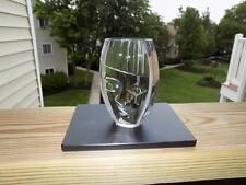 Orrefors Crystal Paperweight Sculpture Nefertite Child Sweden  Martti Rytkonen A