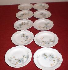 """Vintage Theo Haviland Limoges Set of Ten Butter Pat Dishes 3.25"""""""