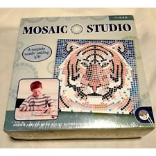 New ListingMosaic Studio Complete Mosaic Making Kit Tiger Nwt mosaic craft new