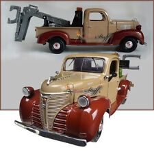 1941 Motormax  Plymouth Tow Truck BROWN 1/24 Diecast Model CAR