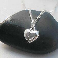 Gravur Damen Herz Anhänger Kette Echt Silber 925 Damenkette Damenschmuck neu