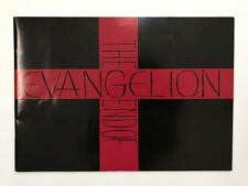 Evangelion Anime Program Pamphlet Red Cross Book End of Evangelion Free Shipping