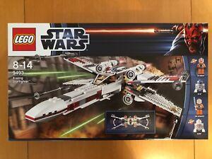 LEGO Star Wars - Pack X-Wing Starfighter & Tie Fighter (9493 et 9492)- Neufs