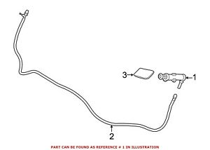 For BMW Genuine Headlight Washer Nozzle Front Right 61677430900