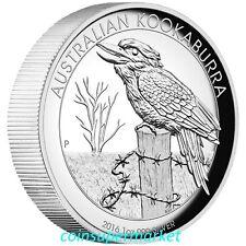 2016 Australia Kookaburra 1oz Silver Proof High Relief Coin The Perth Mint OGP!!