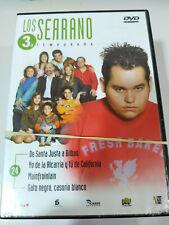 Los Serrano Tercera Temporada 3 Completa Serie TV - 8 x DVD Español Region 2